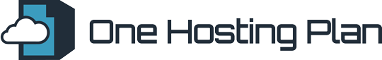 One Hosting Plan Logo